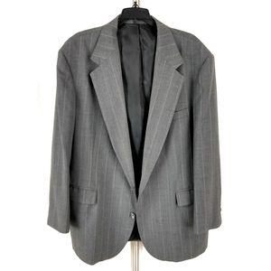 Haggar Men Gray Sport Coat Blazer